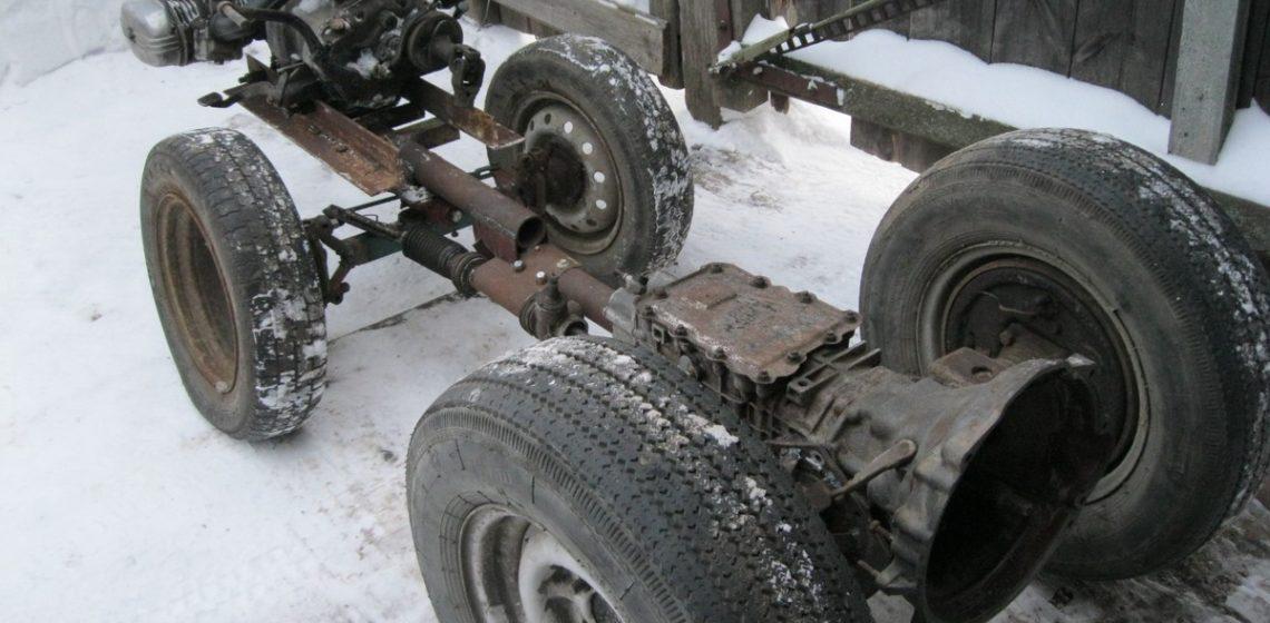 Минитрактор из автомобиля