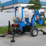 Прицепной мини-экскаватор XL-01
