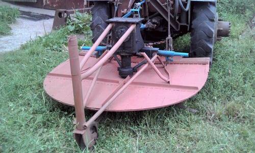 Самодельная косилка для сена
