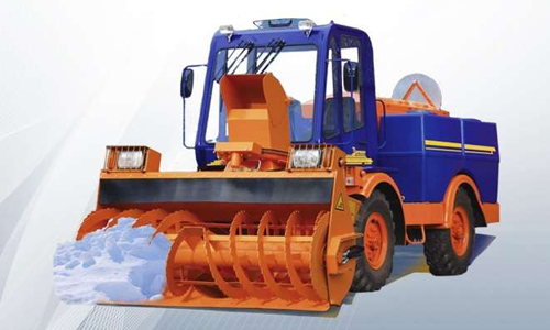 Шнекороторный снегоочиститель ММД-1
