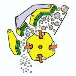 Принцип работы роторной дробилки