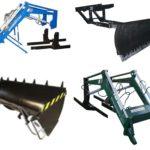 Комплектация навесного оборудования для мини-погрузчика