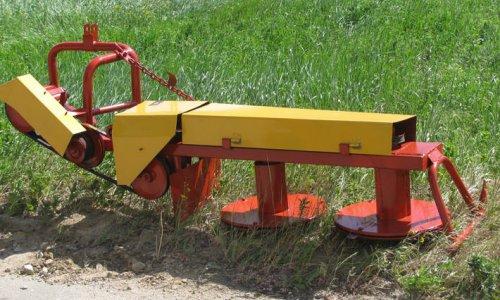Сенокосилка для трактора своими руками видео 105