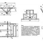 Примерная схема рамы прицепа