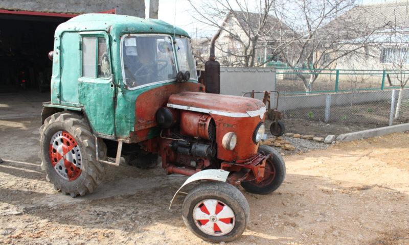 Трактор из Жигули