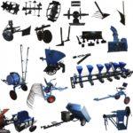 Виды навесного оборудования для минитрактора