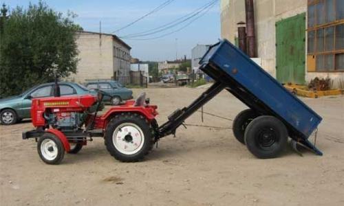 Прицеп до трактора своими руками