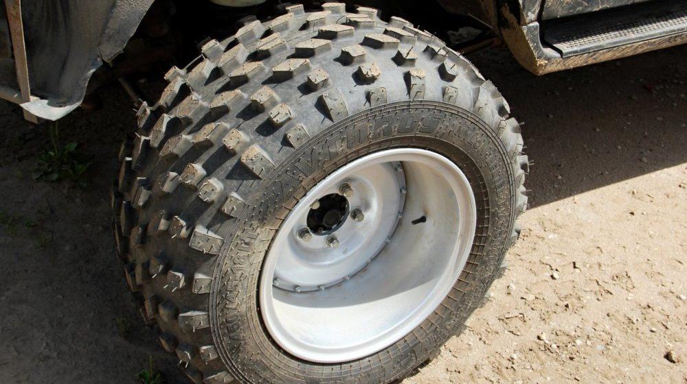 Самодельные диски для шин низкого давления