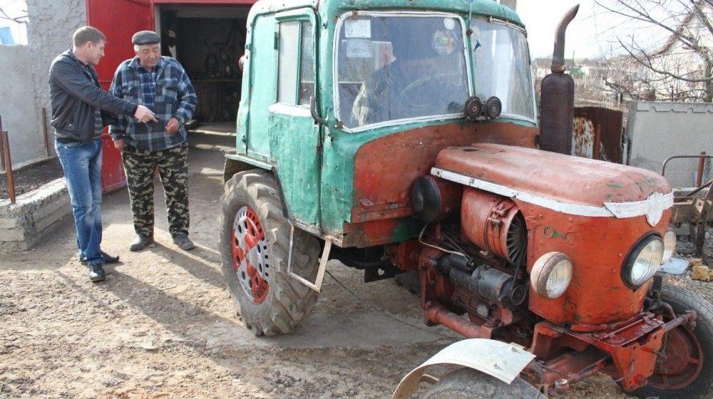 трактор из Жигулей своими руками
