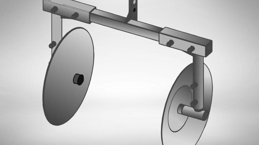 Дисковый окучник для мотоблока