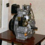 Дизельный двигатель минитрактора