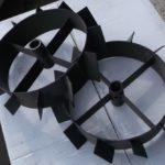 Металлические колеса для культиватора