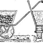 Схема ручной картофелесажалки