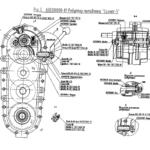 Схема редуктора для мотоблока