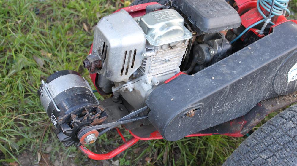 Мотоблок с генератором
