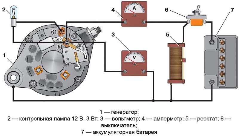 Регулятор напряжения зарядки аккумулятора схема