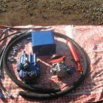 Элементы гидравлической системы для минитрактора